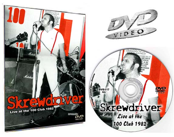 Skrewdriver Live at the 100 Club 1982